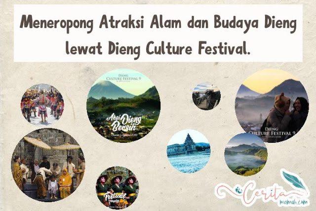 Keindahan alam dan budaya dieng