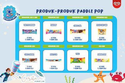 macam-macam es krim paddle pop
